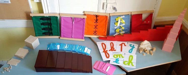 Investissement dans du matériel pour la pédagogie Montessori !