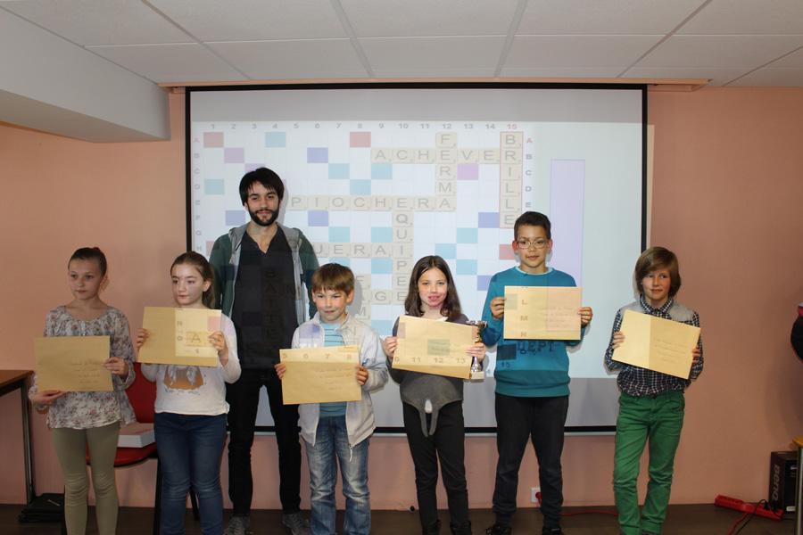 La finale régionale de Scrabble