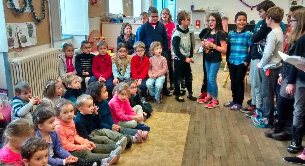 Chanter en maternelle