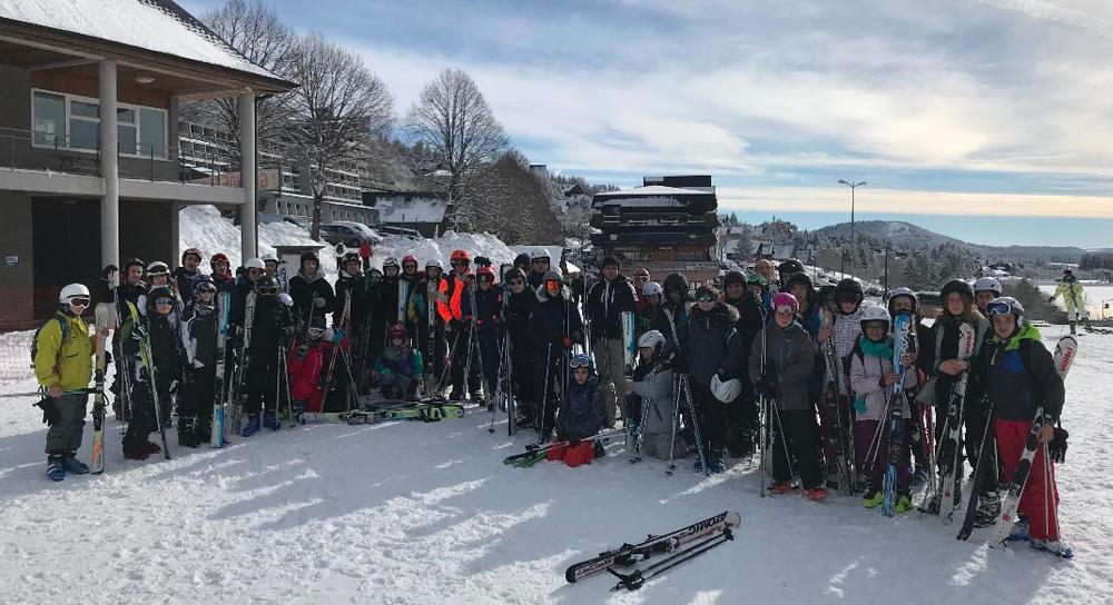 Une journée au ski