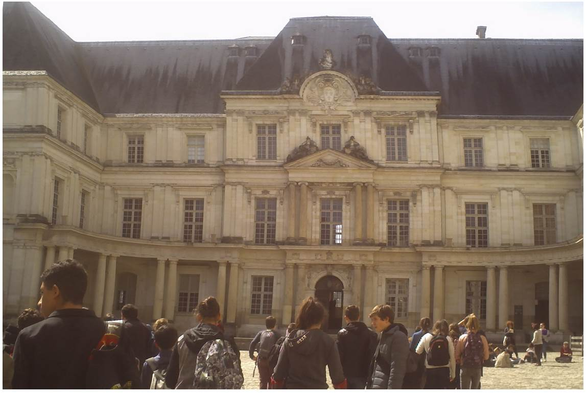 Des collégiens à Blois
