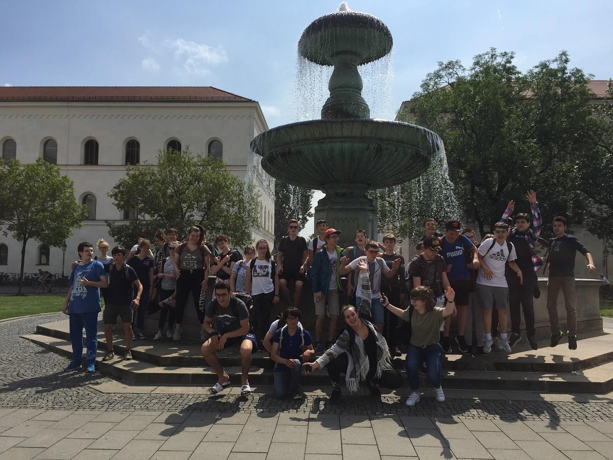 Les collégiens de Notre-Dame à la découverte de Münich