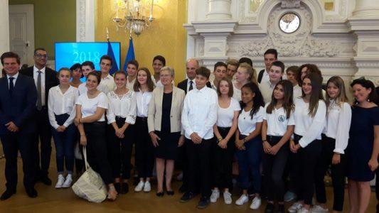 Des lycéens de Saint-Alyre participent à la commémoration de la Grande Guerre
