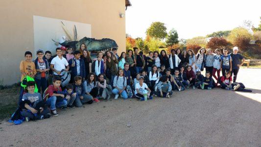 58 jeunes collégiens de Notre Dame à l'assaut de Paléopolis – Billom