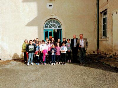 Visite de l'évêque à Ambert