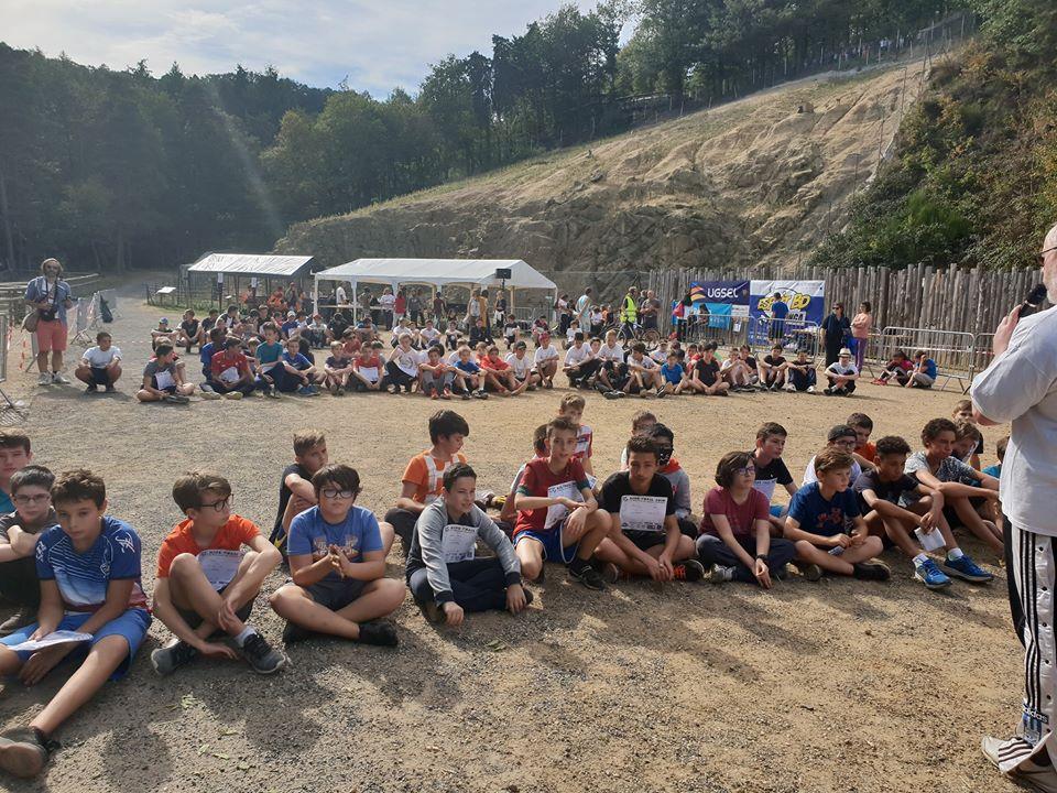 Les élèves de Maringues au Kids Trail 2018
