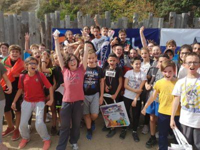 La course au Parc pour les élèves de Billom