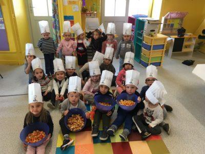 Apprentis cuisiniers à Billom