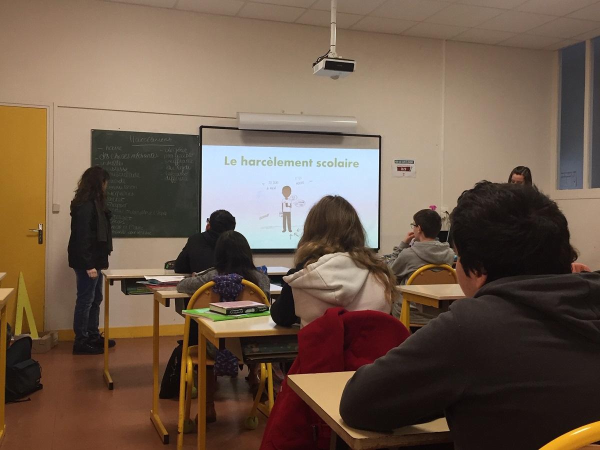 On parle du harcèlement scolaire à Maringues