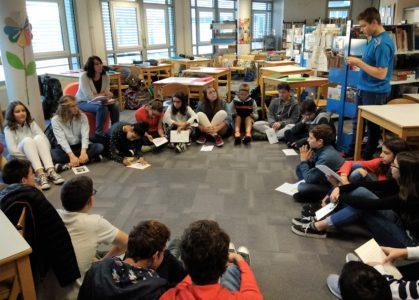 Rencontre de lecteurs pour les collégiens de Chamalières : nouvelles de Maupassant