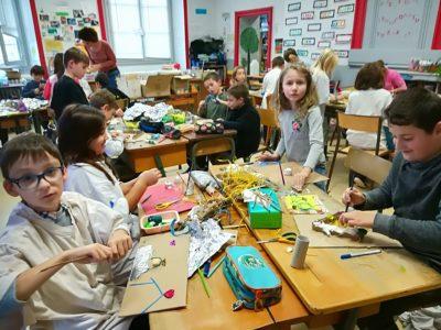Journée Arts pour les écoliers de Billom