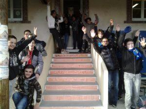 Les collégiens de Saint-Eloy-les-Mines passent la Marche-Avent 2018