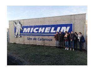 Une visite chez Michelin enrichissante pour les 3ème de Maringues
