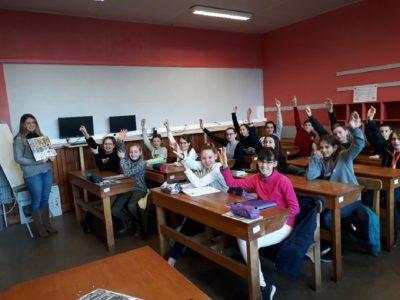 Les collégiens de Notre Dame se préparent au Cambridge Exam