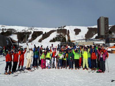 Sortie ski pour les collégiens de Thiers