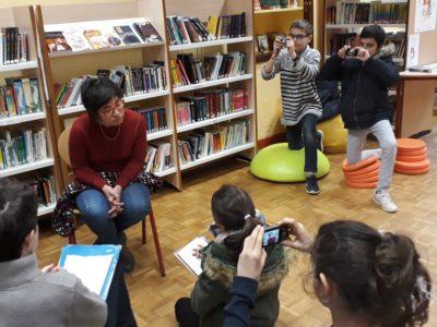 Les élèves de Notre Dame à Billom initiés au photojournalisme