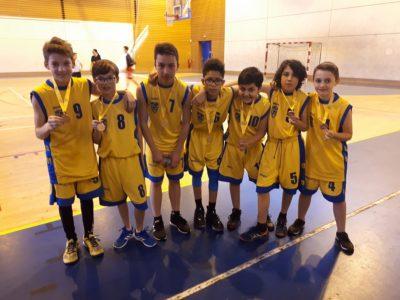 Des champions de basket au collège de Thiers