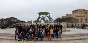 Ouverture Internationale à Malte pour des collégiens de Massillon