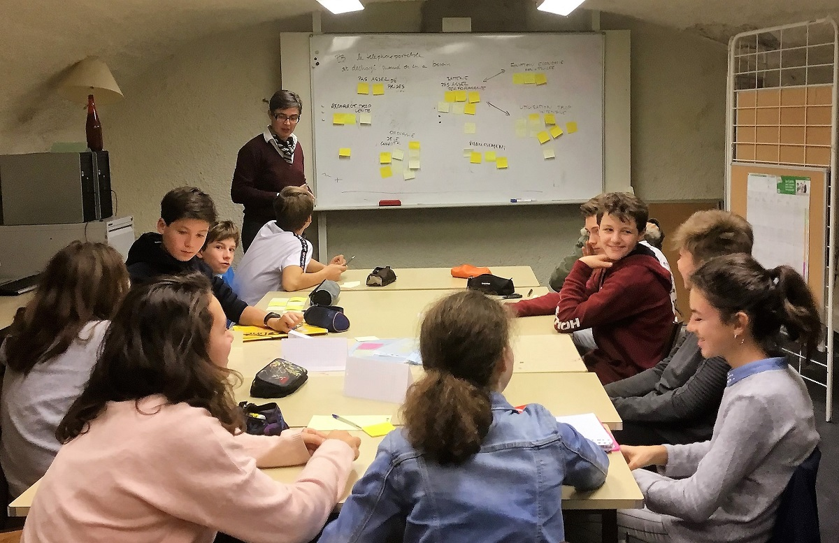 Mini-Entreprise FACILI'TRI – collège Chamalières