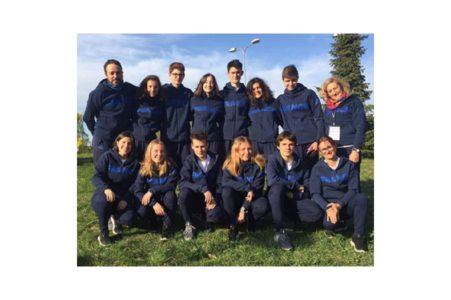 UNSS – Une élève de Massillon en Estonie avec la délégation française