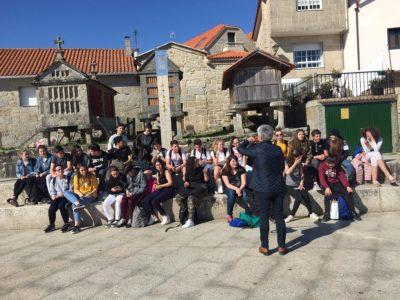 Des collégiens de Maringues en Espagne
