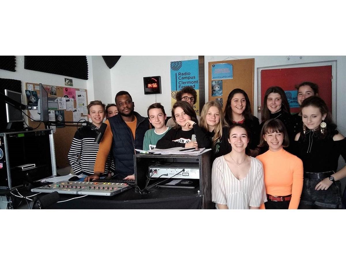 3e émission Radio Campus pour des collégiens de Ste Thècle