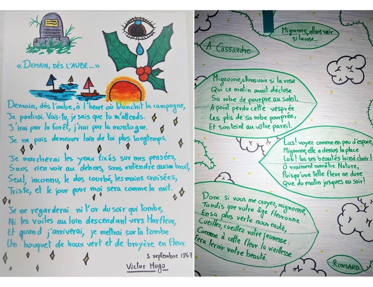 Une plongée dans la poésie lyrique pour les collégiens de Chamalières