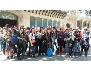 Quatre jours d'immersion en Catalogne pour les 4ème  de Notre Dame Billom