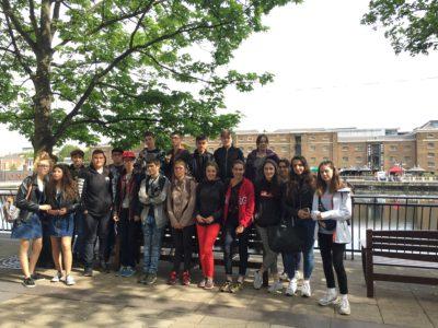 Découverte de la seconde guerre mondiale outre-manche pour les élèves de Notre Dame – Billom