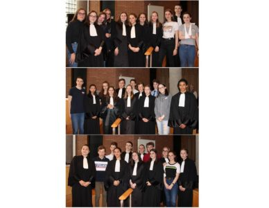 Des élèves de Chamalières au cœur de la justice