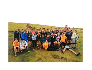 Sortie trail avec un ancien champion du monde pour des lycéens de Massillon