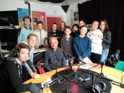 Partenariat Radio Campus pour des 3ème de Ste Thècle