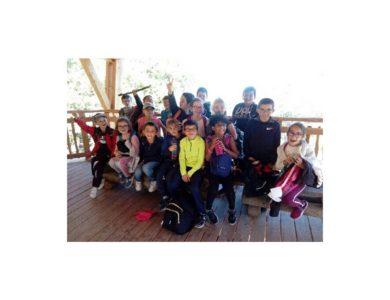 Les écoliers de Maringues au Kids trail à Ardes-sur-Couzes