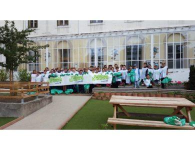 Mobilisation des 6ème de St Saturnin en faveur de la nature et de l'environnement
