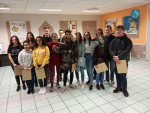 Belle cérémonie de remise des diplômes du Brevet – Ste Jeanne d'Arc, Thiers