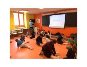 Les écoliers de Giat apprennent les gestes qui sauvent