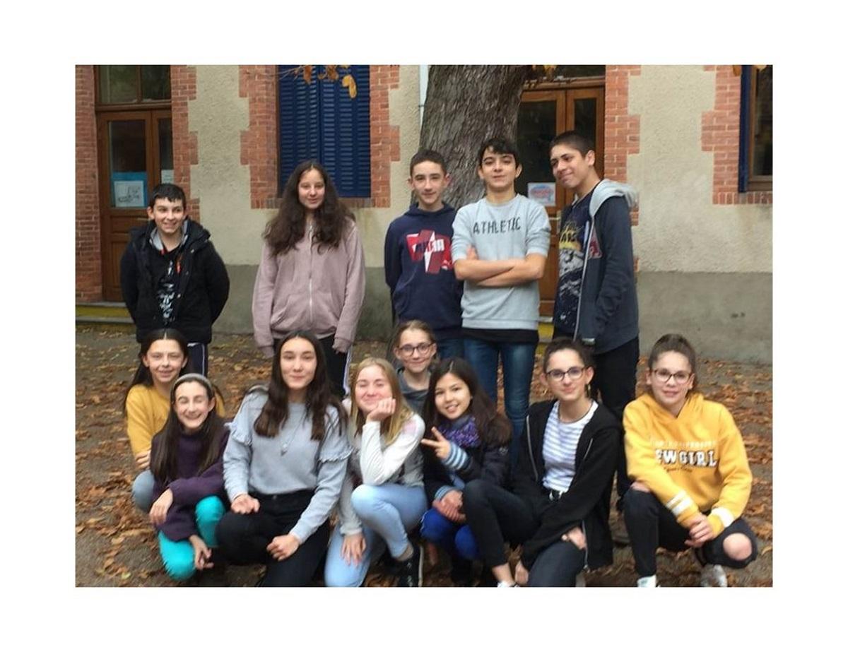 Le collège Saint Joseph de Maringues se mobilise pour sauver la planète