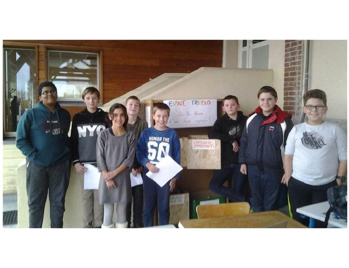 Des éco-délégués dynamiques au collège Jeanne d'Arc – Saint-Eloy-les-Mines