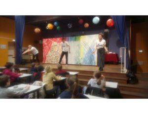 Du théâtre pour la semaine franco-allemande – Collège Massillon, Clermont