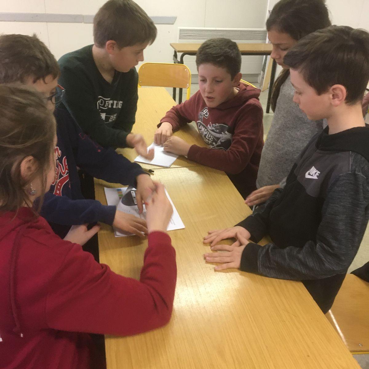 Un escape game au collège Jeanne d'Arc – Saint-Eloy-les-Mines