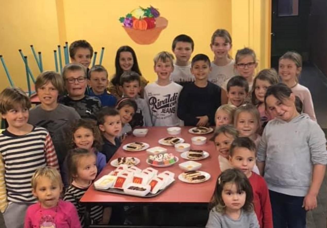 La semaine du goût à l'école Jean-Baptiste de la Salle de Giat