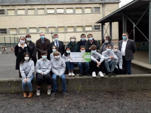 Un défi écologique et une jeunesse engagée au collège Saint Anne à Orcines