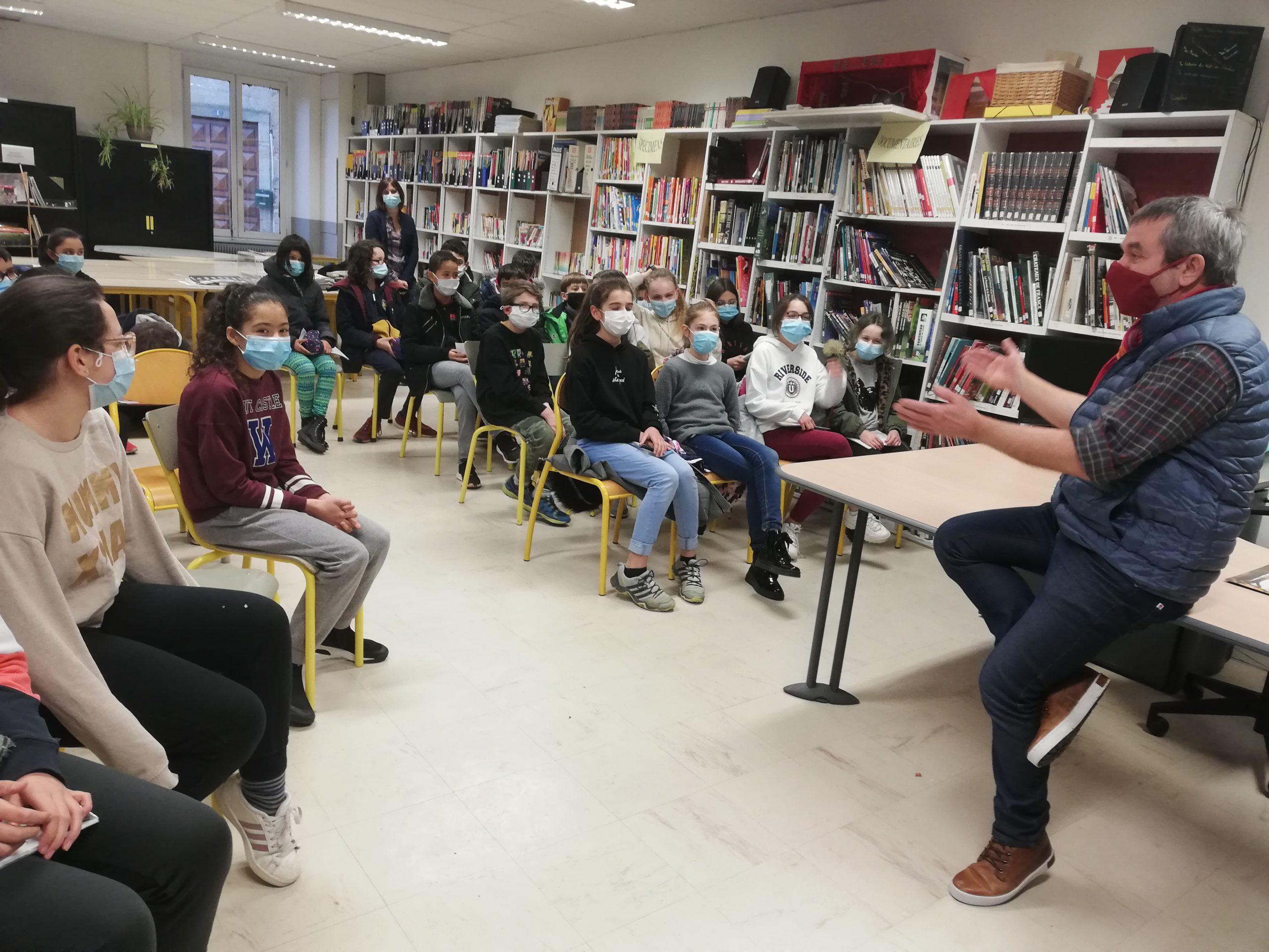Xavier-Laurent Petit rencontre ses lecteurs