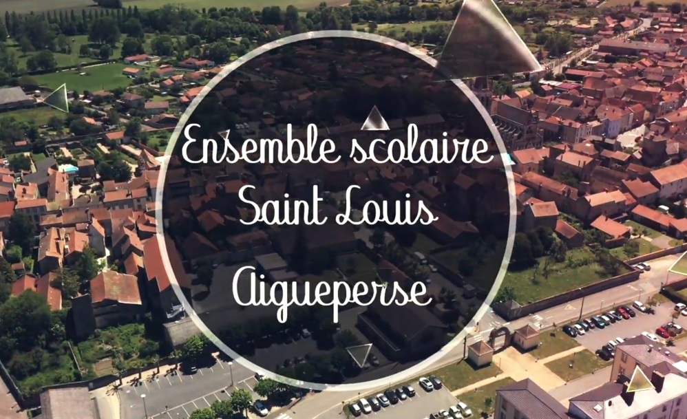 Découvrez l'ensemble scolaire Saint Louis à Aigueperse