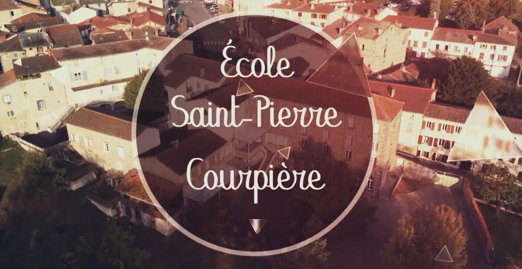 Découvrez l'école Saint Pierre à Courpière