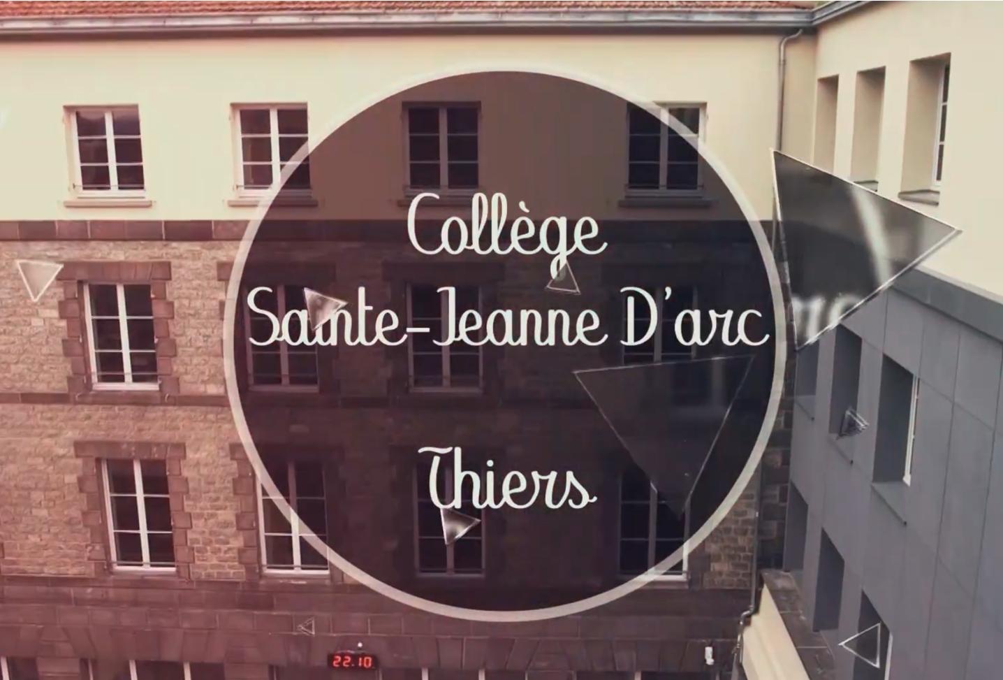 Visitez le collège Sainte Jeanne d'Arc de Thiers