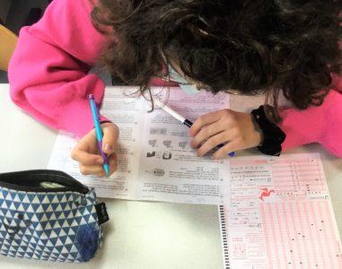 Concours Kangourou des Mathématiques à Sainte Thècle