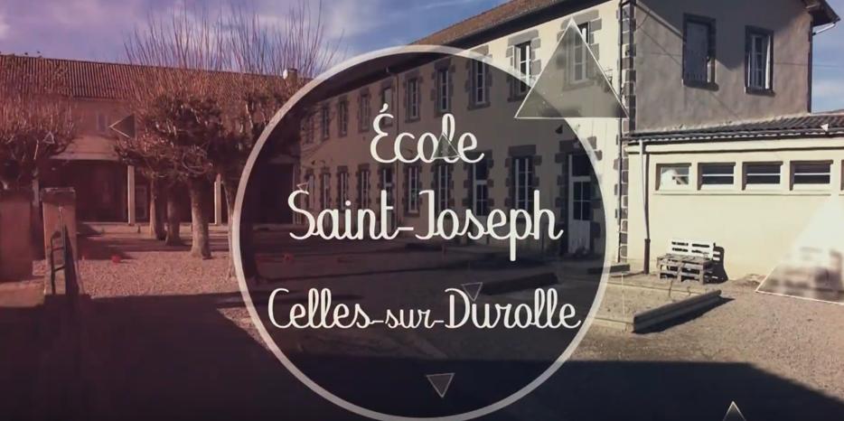 Découvrez l'école Saint Joseph à Celles sur Durolle