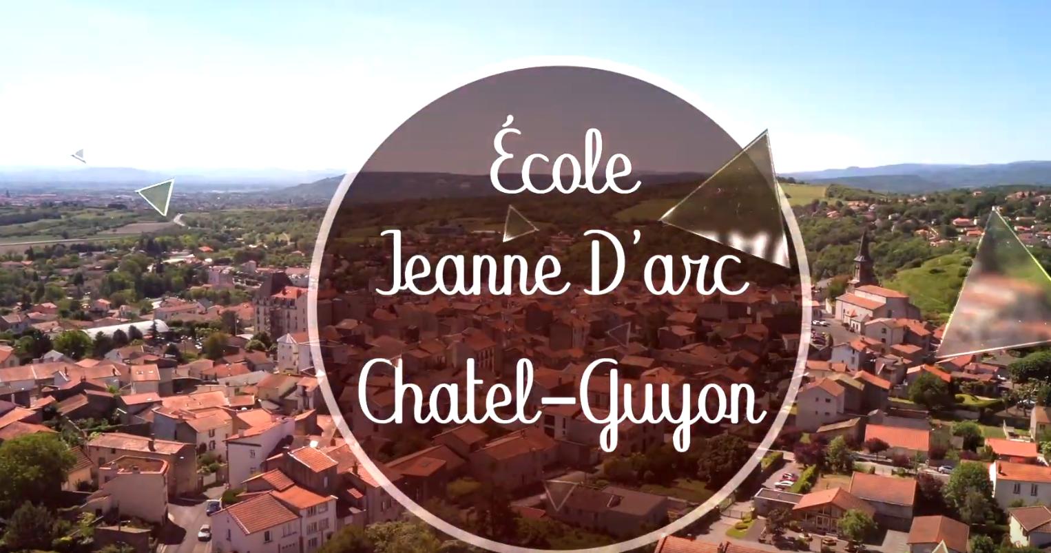 Découvrez l'école Jeanne d'Arc de Chatel Guyon
