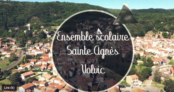 Découvrez l'ensemble scolaire Sainte Agnès à Volvic